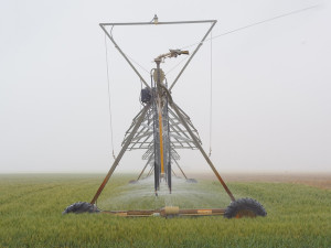 Center-pivot-sprinkler